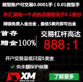 2020年3月27日收到国外XM外汇收款35美金